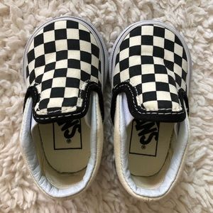 The Checkerboard Slip-On V by Vans